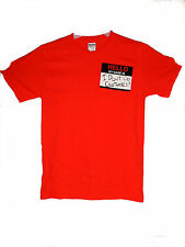 "NEW "" HELLO MY NAME IS  I DONT DO COSTUMES! "" SMALL HALLOWEEN T-SHIRT ORANGE"
