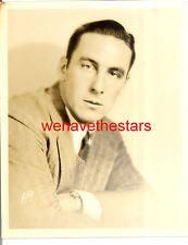 Vintage George O'Brien QUITE HANDSOME 20s DBW Publicity Portrait by AUTREY
