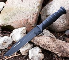 "7.5"" MILITARY TACTICAL COMBAT KNIFE w/ SHEATH Survival HUNTING Fixed Bowie Blade"