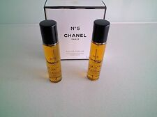 CHANEL N°5 PARFUM PURSE SPRAY REFILL 2x20ml