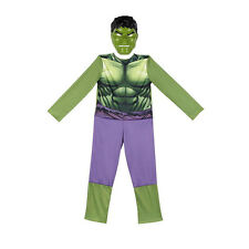 Avengers The Incredible Hulk Animated Full Dress Up Costume Small 4-6X