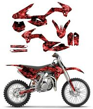 KTM SX85 graphics decal kit 2013 - 2017  | free custom service NO9500 Red Zombie