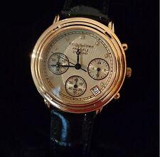 Krug Baümen 150577DL - Principle Diamond Ladies Rose Gold Strap Watch RRP: £195