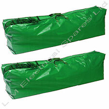 2 x 9ft Christmas Tree Storage Bag Cover Strong Durable Hardwearing Xmas Bags