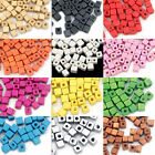100pcs Wood Spacer Loose Wooden Craft DIY Jewelry Cube Beads 5x5mm