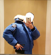 2017 LATEST CONCEPT POLAR BEAR CANADA GOOSE BLUE LABEL PBI CHILLIWACK LG PARKA