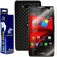 ArmorSuit MilitaryShield Motorola Droid Razr Maxx HD Screen + Black Carbon Fiber