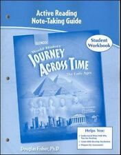 Journey Across Time, Early Ages, Active Reading Note-Taking Strategies-ExLibrary