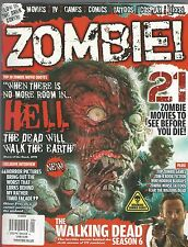 Zombie! 21 Zombie Movies; Walking Dead 6 Glow In The Dark Cover Tattoos Cosplay