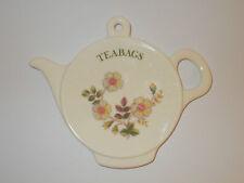 St Michael Autumn Leaves Floral Melamine Tea bag Tidy Tea bag Holder Lovely