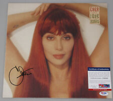 "CHER Hand Signed LP 'LOVE HURTS'  + PSA DNA COA  ""Buy Authentic"""