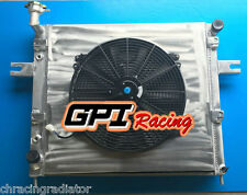 FOR Radiator + FAN for JEEP GRAND CHEROKEE 4.0 L6 6CYL 99-04 Drivers Side Fill