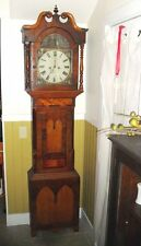 ANTIQUE TALL CASE  Charles of Louth~C. Pailthorp ~Grandfather Clock~Working 19th