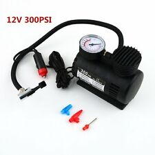 Portable 12V Auto Car Electric Air Compressor Tire Infaltor Pump 300 PSI O9