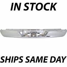 NEW Chrome - Steel Rear Bumper Face Bar For 2002-2009 Dodge Ram 1500 2500 3500