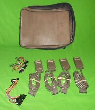 (4) Tektronix P6460 Data Acquisition Probes with Misc Lead Sets & Bag