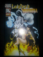 LADY DEATH / VAMPIRELLA CROSSOVER (deutsch )- COMIC ACTION 1999  - MG PUBLISHING
