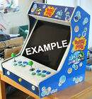Table or Bartop Arcade Cabinet - Machine Cut - High Quality Wood - Flat Pack