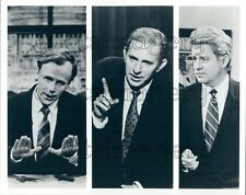 1992 Saturday Night Live SNL TV Carvey as Bush & Perot Phil Hartman Press Photo