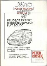 PEUGEOT EXPERT CITROEN DISPATCH FIAT SCUDO 1868CC DW8 DIESEL 1.6 2.0 MANUAL