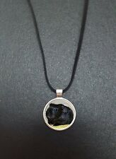 """Guinea Pig Pendant On a 18"""" Black Cord Necklace Ideal Birthday Gift N410"""