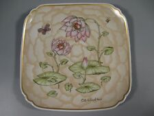 Hutschenreuther Winther Plate 1982 Lilly Pads Butterfly