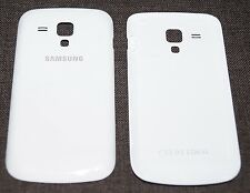 Original Samsung gt-s7562 Galaxy S Duos Tapa batería, Battery cover, Blanco White