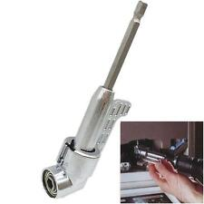 "Adjustable 1/4"" Magnetic Angle Driver Adapter Screwdriver Drill Bits for Wrench"