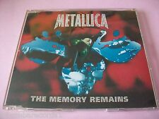 METALLICA - THE MEMORY REMAINS - CD SINGLE - PROMO EDIT - METAL