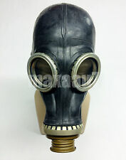 MEDIUM 2 SIZE russian soviet black gas mask GP-5 only mask size 2 medium