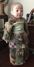 ANTIQUE JAPANESE ICHIMATSU BOY DOLL 24""