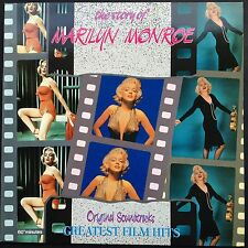 Import! STORY OF MARILYN MONROE 21 Greatest Film Hits Soundtracks OSTs LP 1990 M