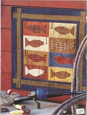 C394#  GO FISH! WALL HANGING  QUILT PATTERN/INSTRUCTIONS