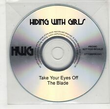 (GW654) Hiding With Girls, Take Your Eyes Off The Blade - 2004 DJ CD