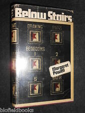 MARGARET POWELL; Below Stairs - 1968-1st, Book That Inspired Upstairs/Downstairs