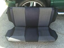 92-95 Toyota Paseo Oem Complete Rear Seat Blue Cloth