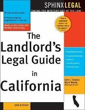 The Landlord's Legal Guide in California, 2E Complete California Landlord'