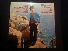 MARIO SCRIVANO HO PROVATO A MORIRE Rare 1969 Italy Kansas Beat LP Great Copy
