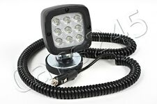 LED Spot Flood Working Light Waterproof Truck Trailer Magnetic Pad 7.8m cable