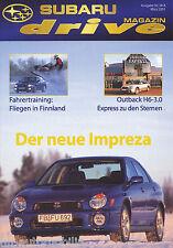 Subaru Drive 3 01 Starlight Express Kyudo Rauno Aaltonen Schweden Rallye 2001