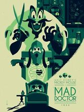 MAD DOCTOR DISNEY MONDO MICKEY TOM WHALEN limited edition print #370