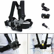 Adjustment Chest Elastic Belt Body Strap Mount Adaptor fr Sony Action Cam Camera