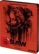 SAW, Director's Cut (Cary Elwes, Danny Glover) Blu-ray Disc, Steelbook NEU+OVP