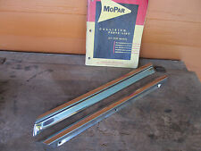 1964 Plymouth Sport Fury Convertible A pillar Windshield moulding Mopar NICE
