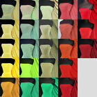 Silk touch 4 way stretch jersey lycra fabric material Q53 Red Yellow Green