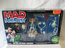vintage Arco MAD SCIENTIST Operating Room monster science playset NICE 1987 toy