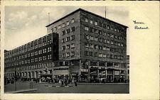 ESSEN 1933 Echtfoto-AK Strassen Partie am Postamt Post Gebäude nach Göttingen