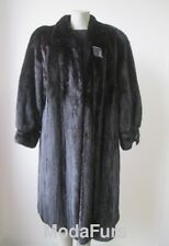 $ Women's Sz 16/18 XL  Black Mink Fur Coat  Superb CLEARANCE SALE
