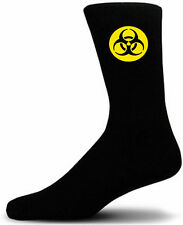BioHazard - Black Novety Socks - Special Socks | Perfect Gift