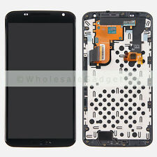 Motorola XT1100 XT1103 Google Nexus 6 LCD Display Touch Screen Digitizer + Frame